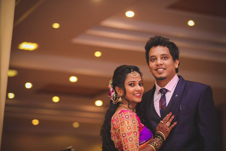 reception wedding shoot